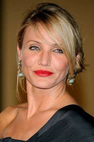"Actress Cameron Diaz attends ""Knight and Day"" premiere at the Lope de Vega Theater in Seville, Spain. Photo: Getty Images"