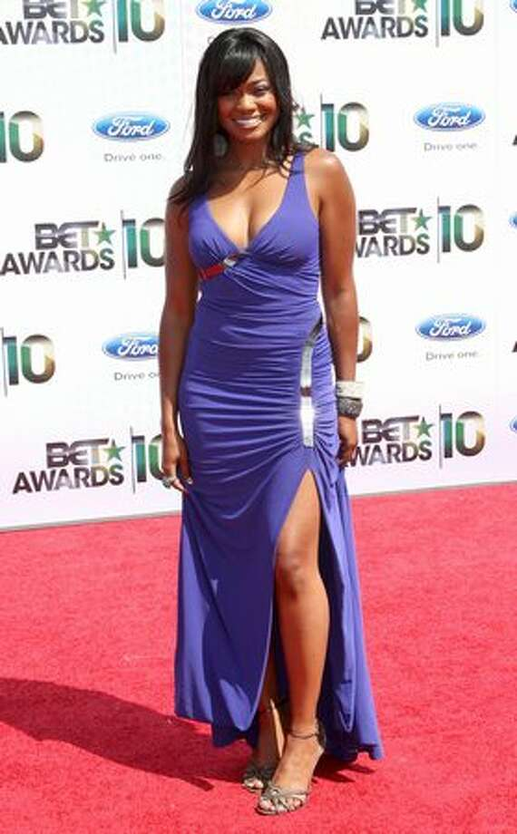 Actress Tatyana Ali arrives at the 2010 BET Awards held at the Shrine Auditorium in Los Angeles on Sunday, June 27, 2010. Photo: Getty Images