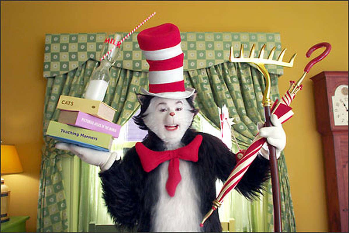 Mike Myers as the Cat in the Hat.