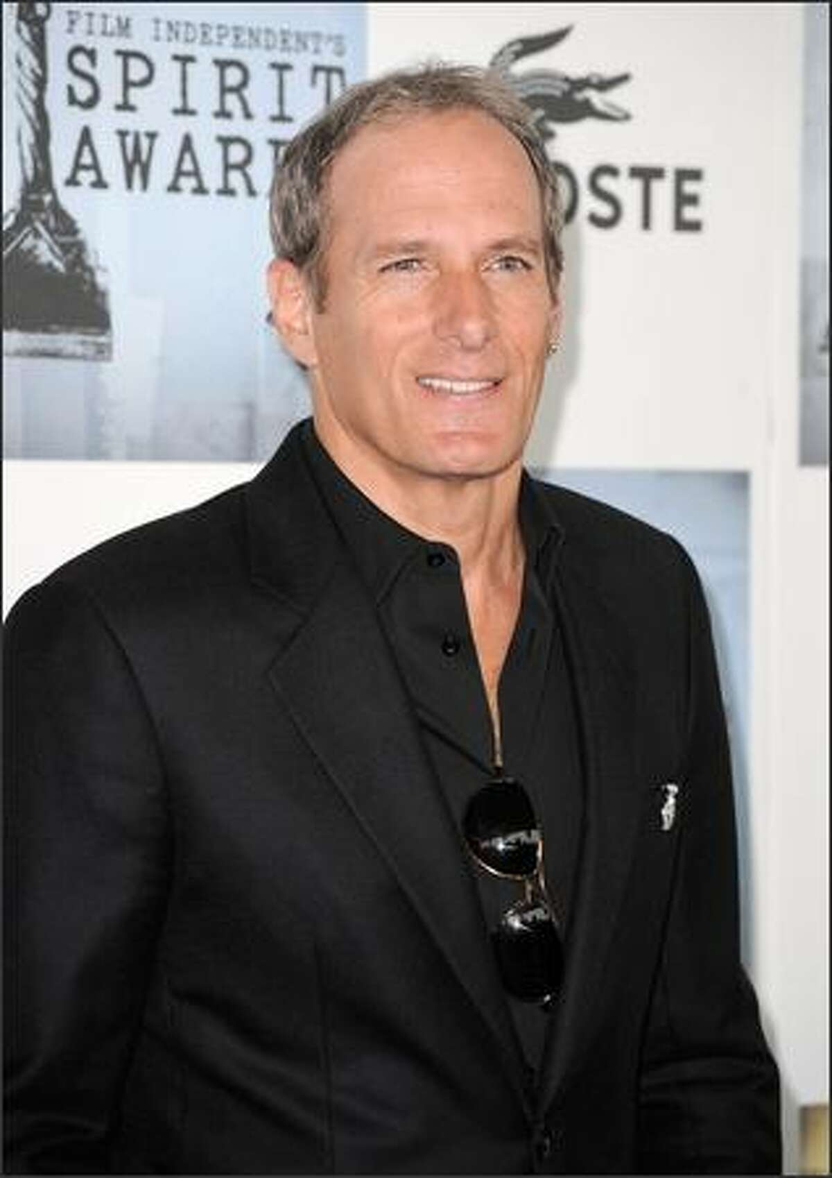 Musician Michael Bolton arrives at the 24th annual Independent Spirit Awards held at Santa Monica Beach in Santa Monica, Calif., on Saturday, Feb. 21, 2009. The awards celebrate the best idependent film offerings of the past year.