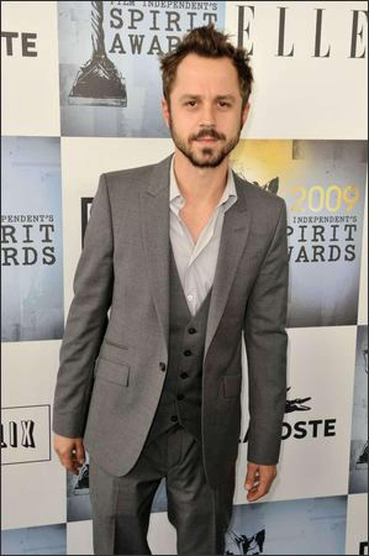 Actor Giovanni Ribisi arrives.