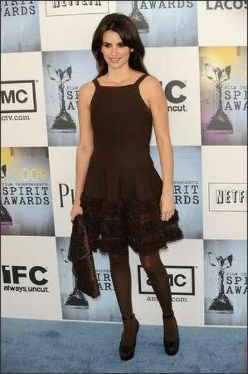 Actress Penelope Cruz arrives.