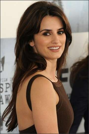 Actress Penelope Cruz arrives.