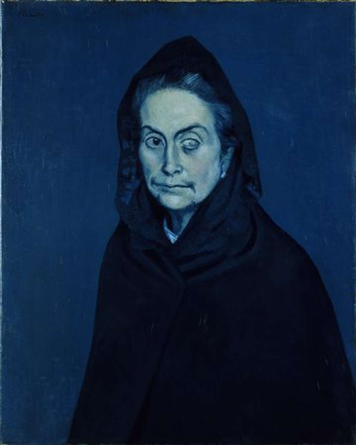 Portrait of Carlota Valdivia (later called the Celestine), 1937. Oil on canvas, 81 x 60 cm.