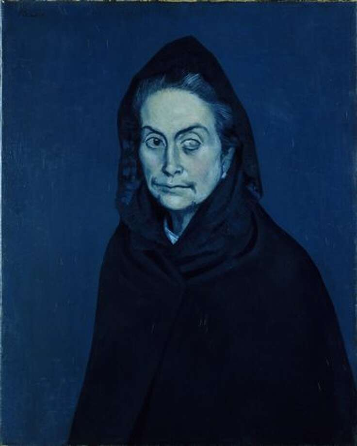 Portrait of Carlota Valdivia (later called the Celestine), 1937. Oil on canvas, 81 x 60 cm. Photo: Réunion Des Musées Nationaux / Art Resource