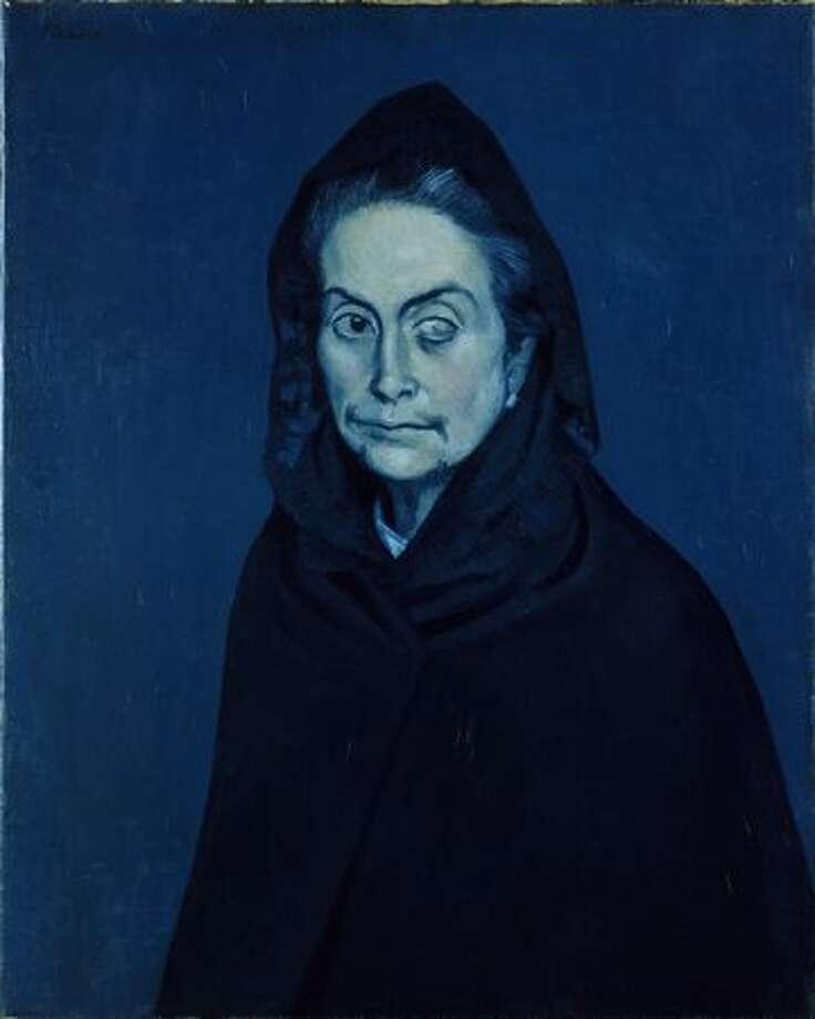 Portrait of Carlota Valdivia (later called the Celestine), 1937. Oil on canvas, 81 x 60 cm. Photo: Réunion Des Musées Nationaux / Art Resource