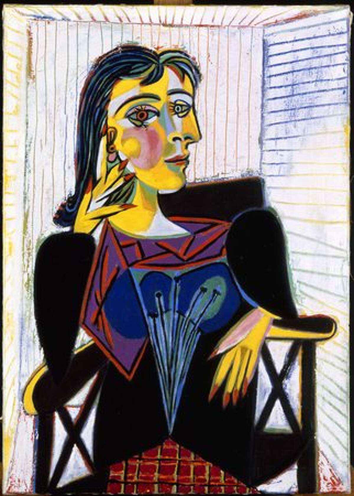 Portrait of Dora Maar, 1937. Oil on canvas, 92 x 65 cm.