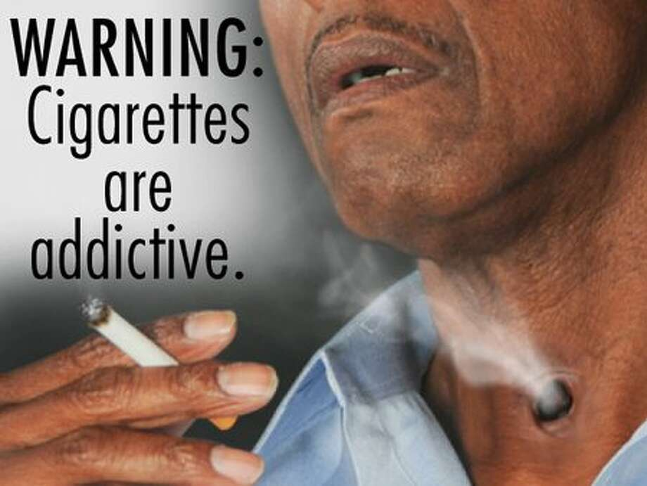 This is one of 36 proposed designs for new graphical warning labels that would appear on cigarette packages in the United States.  The Food and Drug Administration will select the final labels in June 2011 after reviews of scientific literature, public comments, and results from an 18,000-person study. Cigarette makers will then have 15 months to start using the new labels. Learn more at FDA.gov.