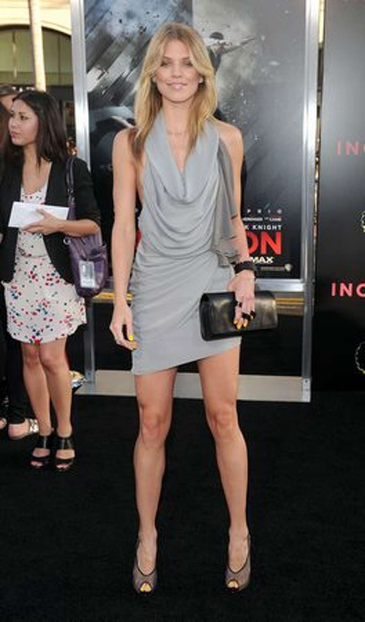 Actress AnnaLynne McCord arrives at the premiere of