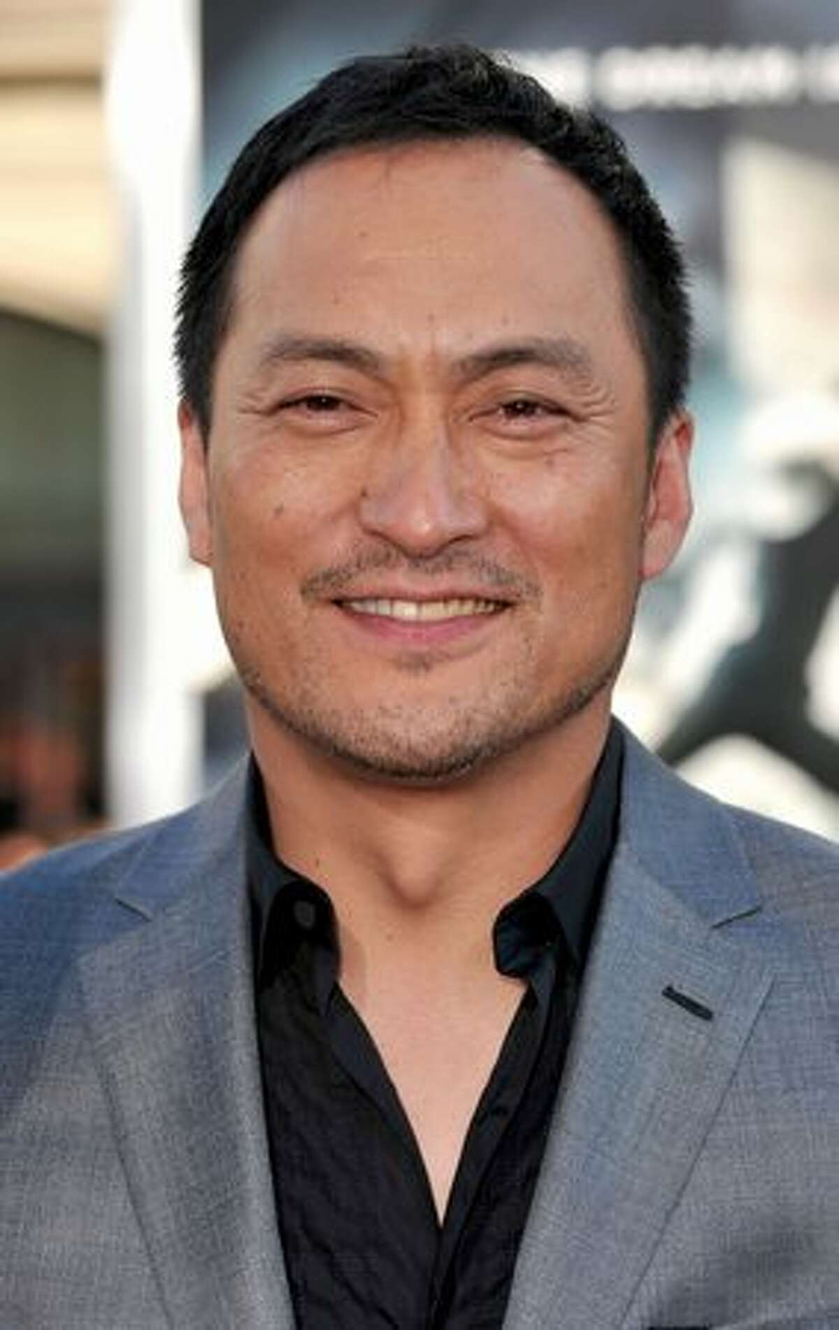 Actor Ken Watanabe arrives.