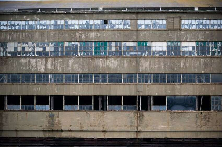 Boeing's legendary Plant 2 is being torn down, windows first.