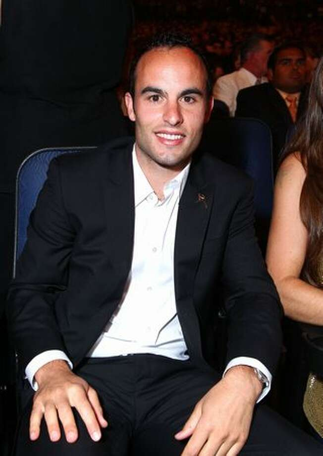 Soccer player Landon Donovan attends the 2010 ESPY Awards at Nokia Theatre L.A. Live in Los Angeles on Wednesday, July 14, 2010. Photo: Getty Images