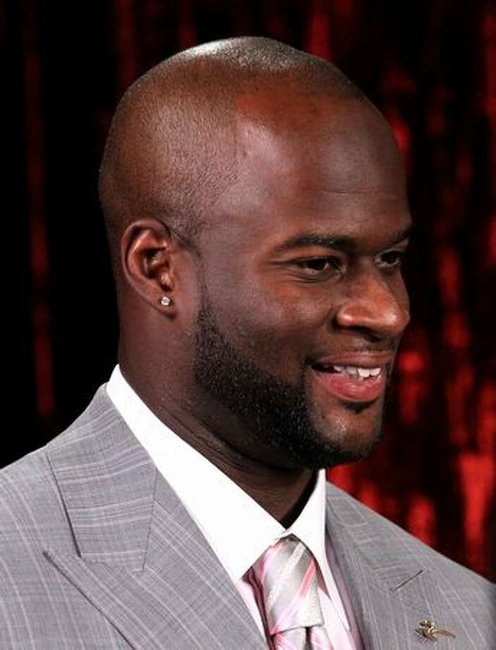 Tennessee Titans quarterback Vince Young attends. Photo: Getty Images