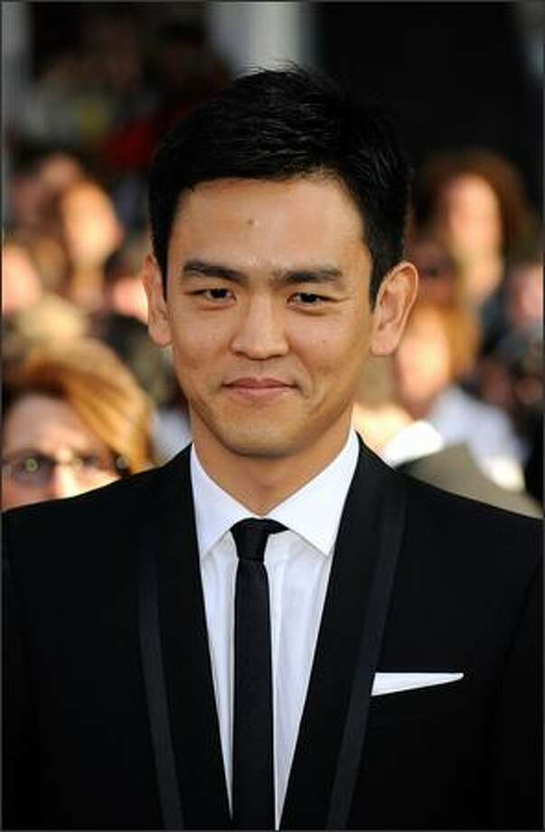 "Actor John Cho, as Hikaru Sulu, showed off his swordsmanship in the first ""Star Trek"" movie with the new cast. Photo: Getty Images"