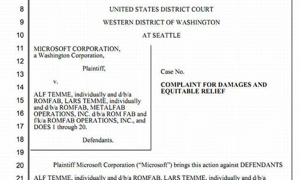 Story: Misspelled 'Hotmail' domains draw Microsoft lawsuit By Nick Eaton I could have selected