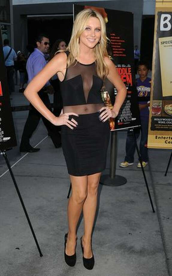 "Actress Stephanie Pratt attends the Los Angeles premiere of ""Middlemen"" held at the ArcLight Cinemas in Hollywood, California. Photo: Getty Images"