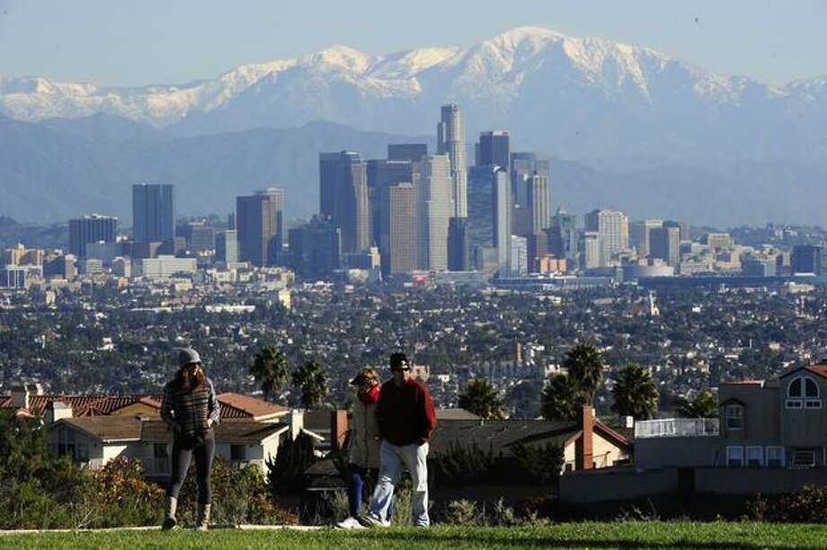 The Southwest megapolitan cluster includes the Southern California (Los Angeles, San Diego), Las Vegas and Sun Corridor (Phoenix) megapolitan areas. Photo: Getty Images