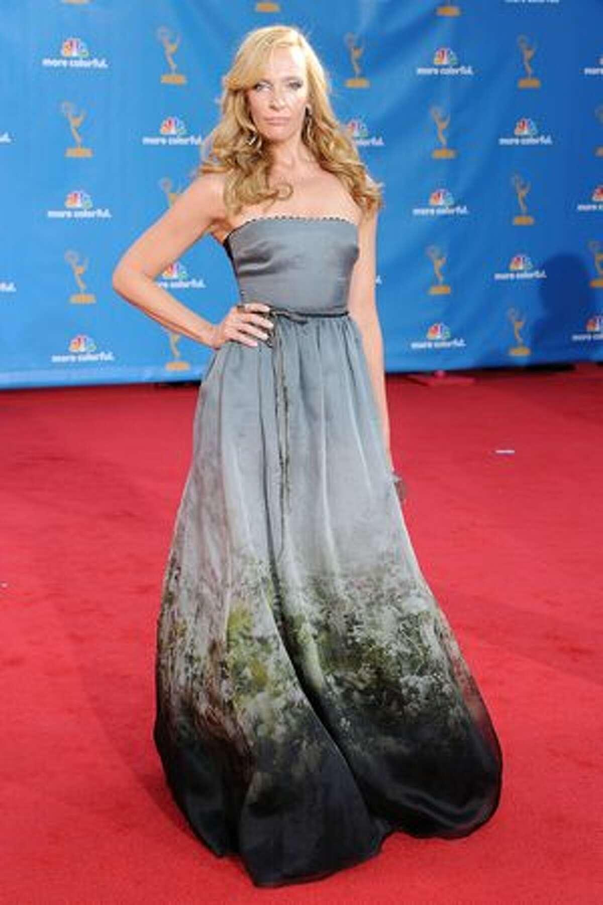 Actress Toni Collette arrives.