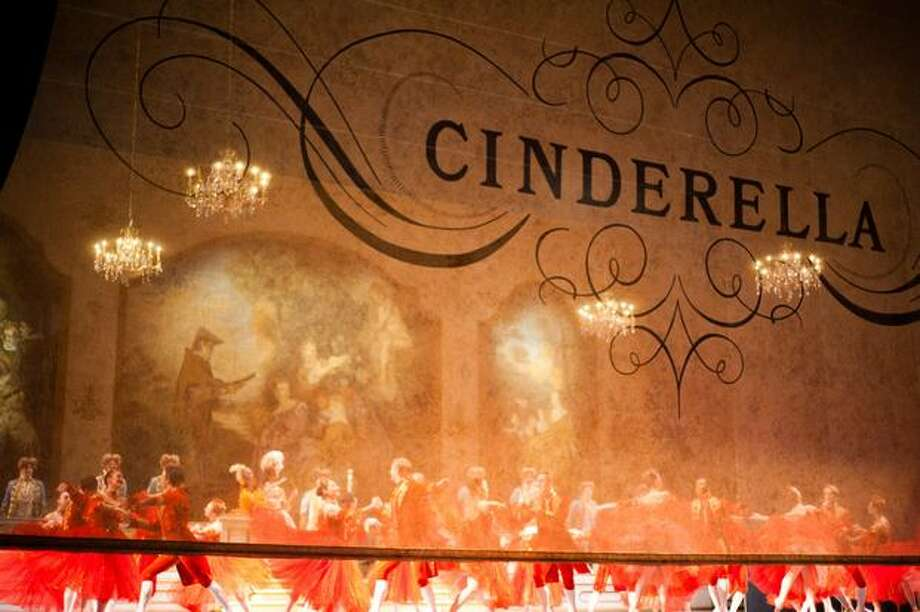 """Pacific Northwest Ballet's """"Cinderella"""" premieres on Friday, February 4th, at McCaw Hall. Photo: Elliot Suhr, Seattlepi.com"""