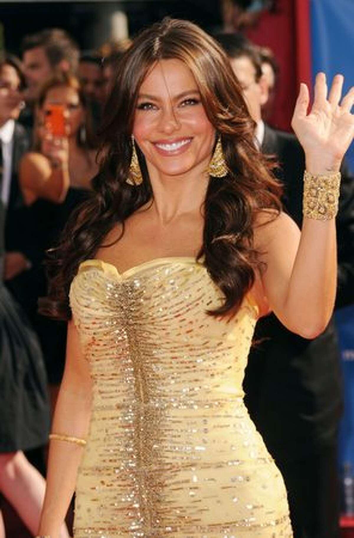 Actress Sofia Vergara arrives.