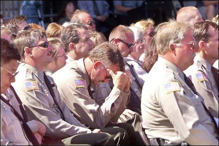 Fellow Clallam County sheriff's deputies remember Davis.