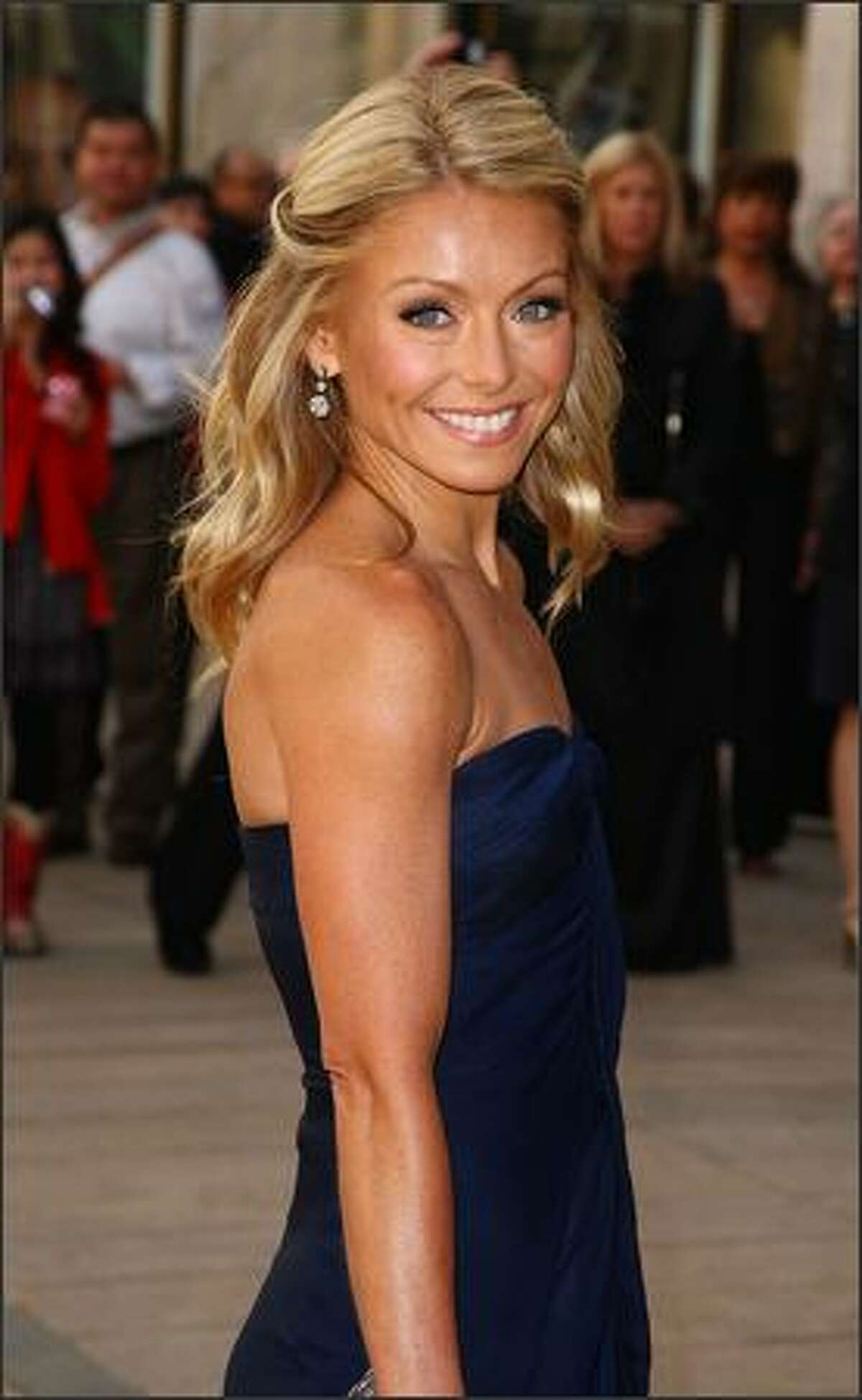 Kelly Ripa attends the 69th Annual American Ballet Theatre Spring Gala at The Metropolitan Opera House in New York City.