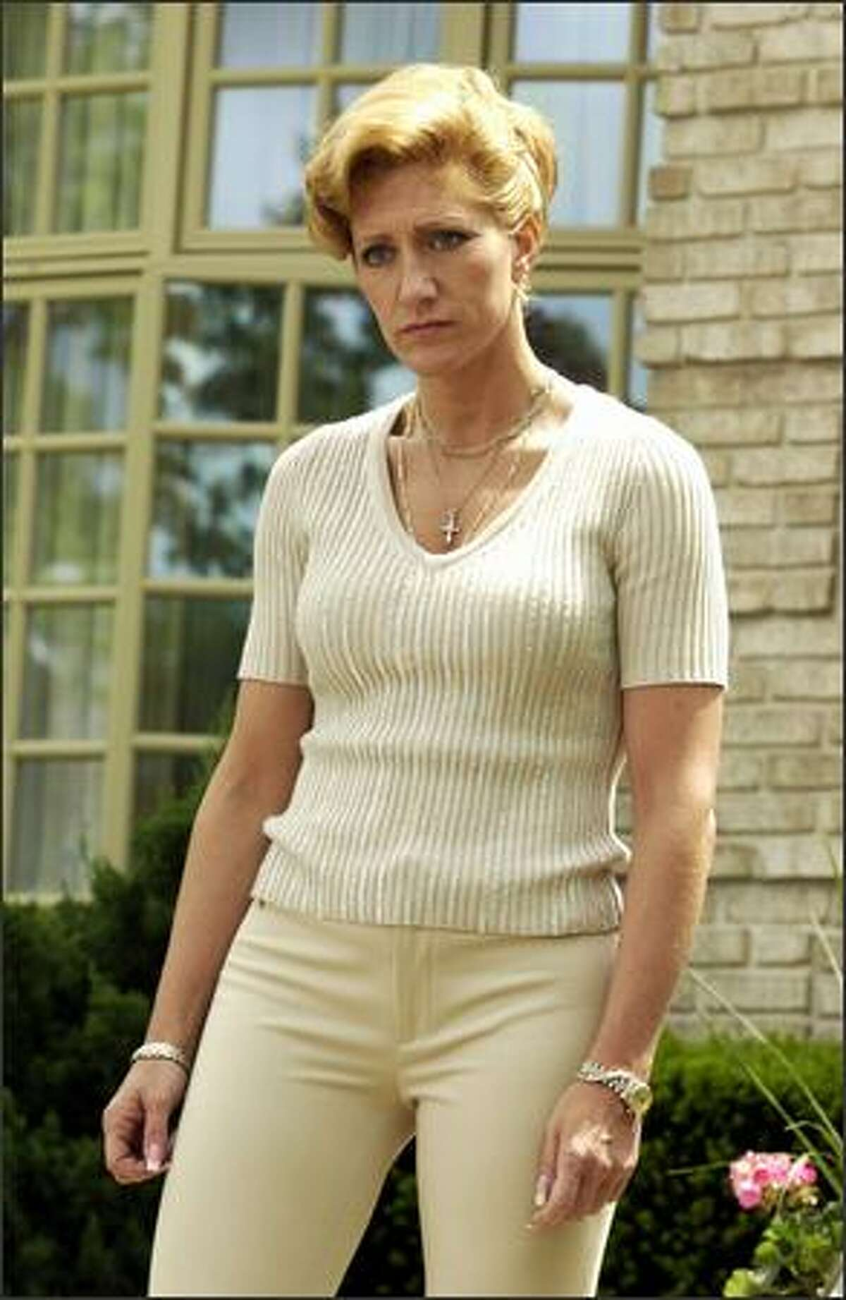 In the last season, Carmela Soprano (Edie Falco) decided that she wants a divorce from Tony (James Gandolfini).