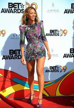 Singer Beyonce arrives at the 2009 BET Awards held at the Shrine Auditorium on Sunday in Los Angeles, California. Photo: Getty Images