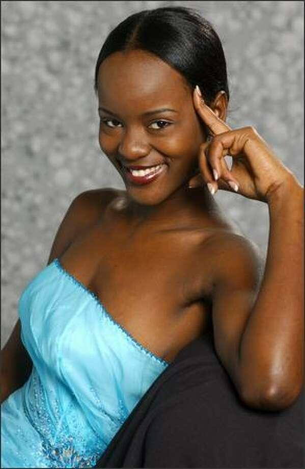 Telma Sonhi, Miss Angola Photo: Miss Universe L.P., LLLP