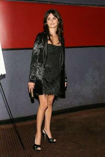 Actress Penelope Cruz.