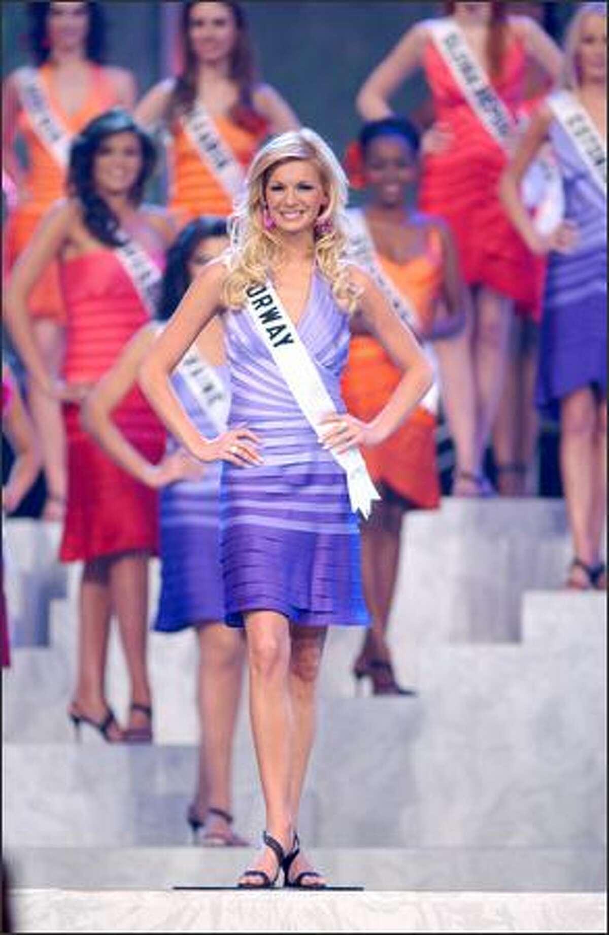 Kathrine Sorland, Miss Norway.