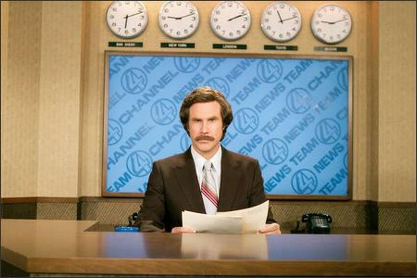 Will Ferrell stars as Ron Burgundy in DreamWorks Pictures'