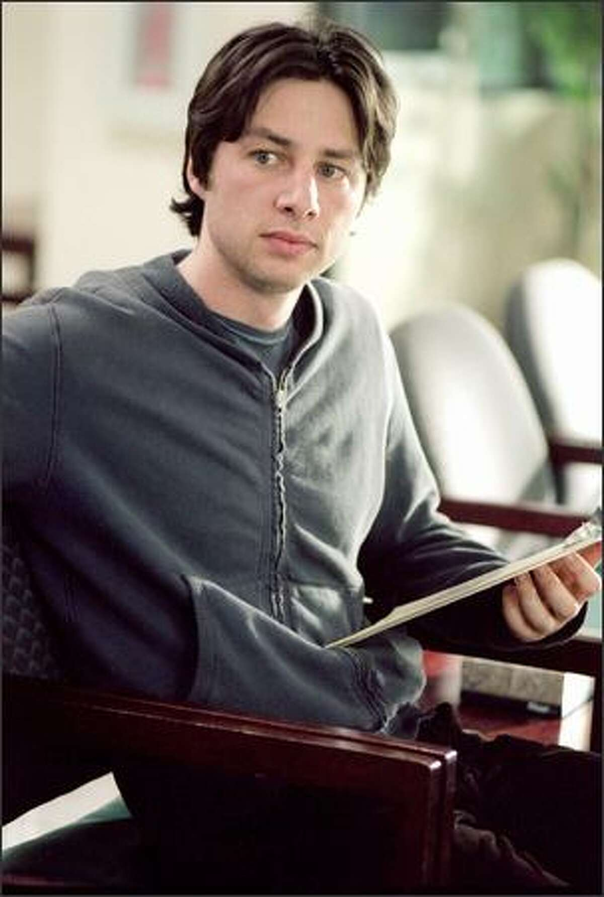 Writer/director/actor Zach Braff makes his feature-writing and directorial debuts with