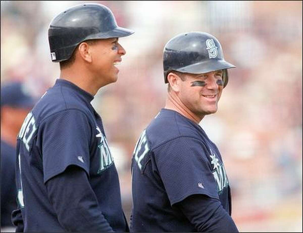 Alex Rodriguez and Edgar Martinez.