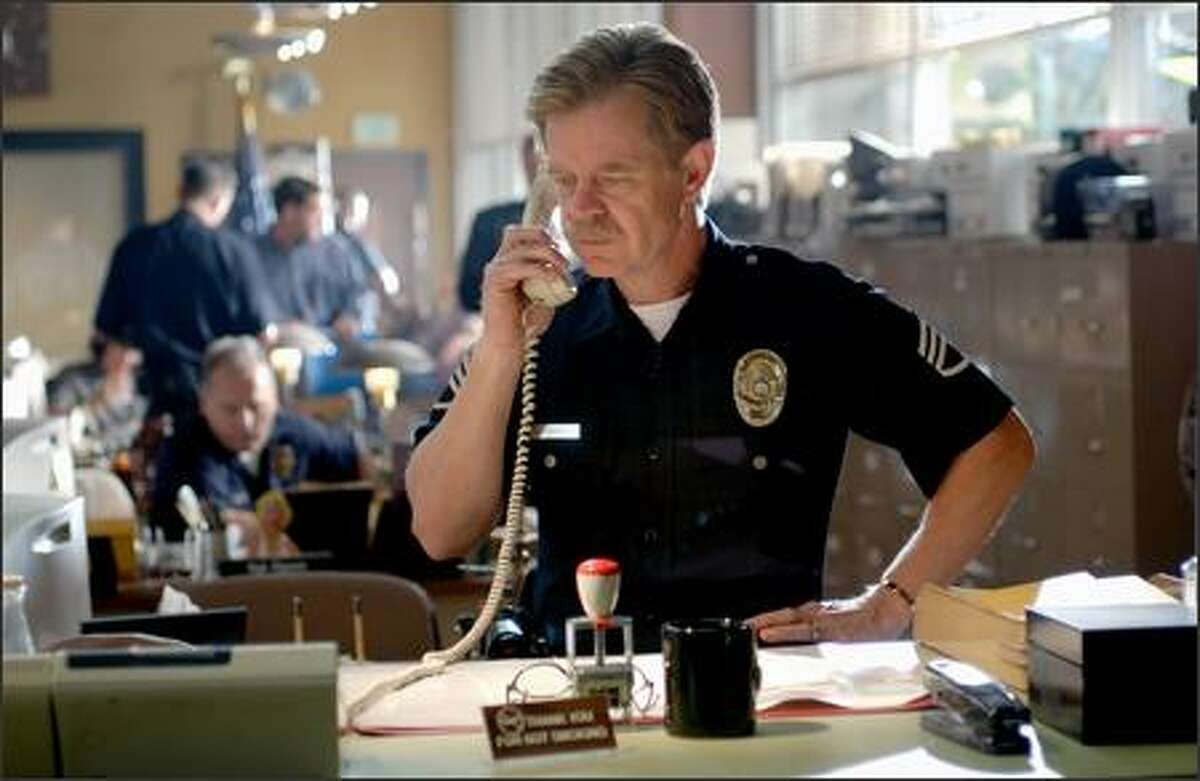 The film features a familiar face in William H. Macy, who plays a veteran cop who may be Ryan's best hope, if only he can piece together his story. Macy is an Oscar-nominated actor best known for roles in such quirky dramas as