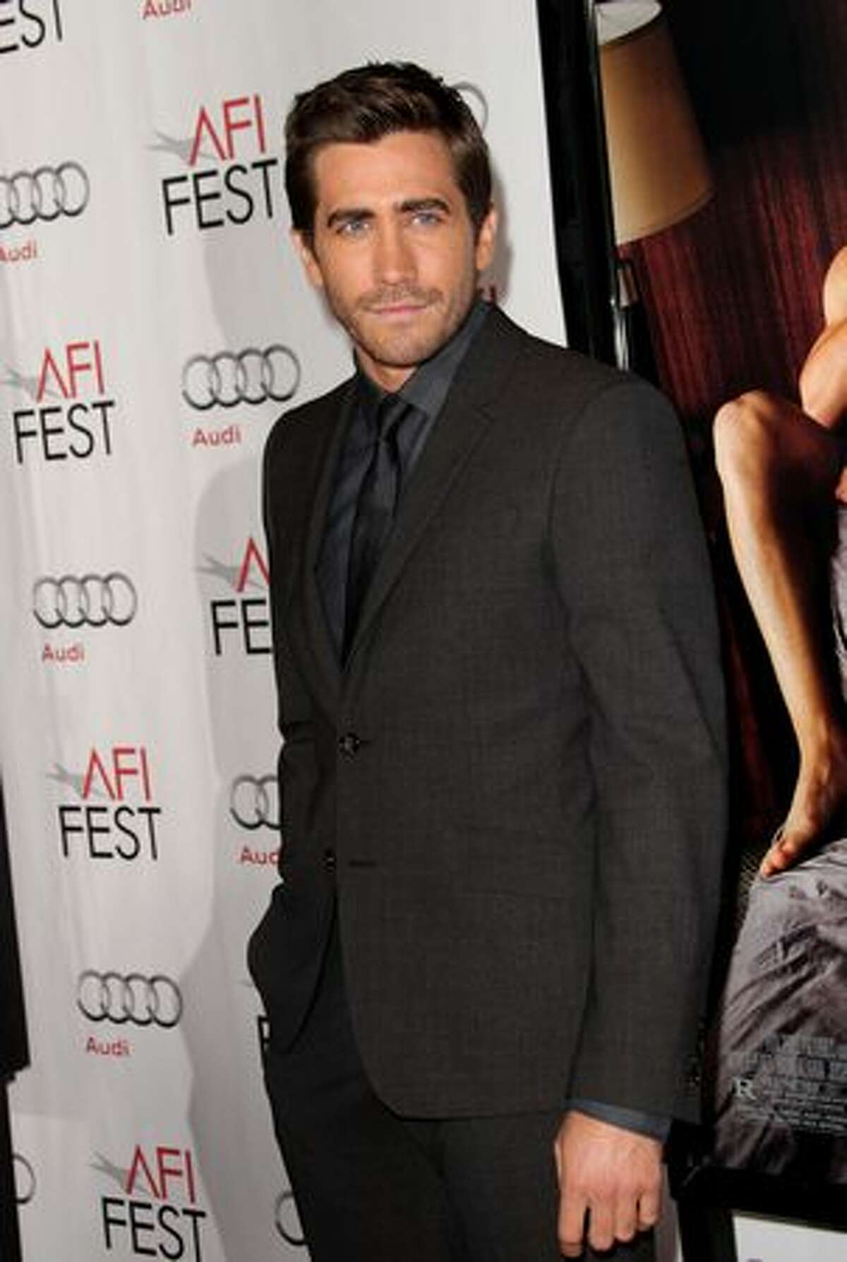 Actor Jake Gyllenhaal arrives.