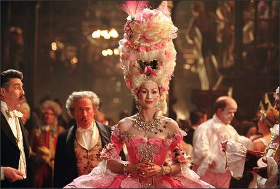 Minnie Driver plays Carlotta, the volatile diva of the Opera Populaire. Photo: Warner Brothers