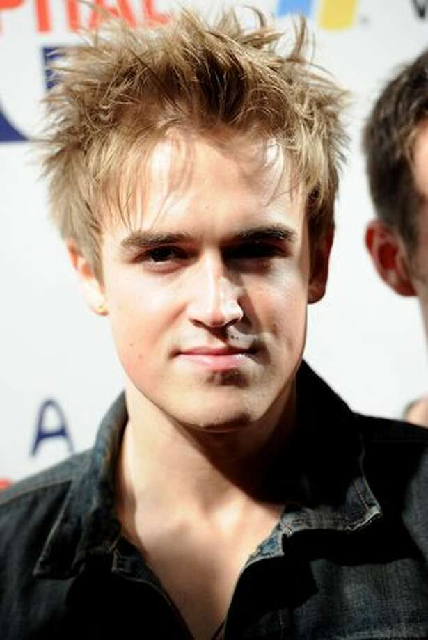 Singer Tom Fletcher of McFly attends Jingle Bell Ball 2010 at O2 Arena in London, England. Photo: Getty Images