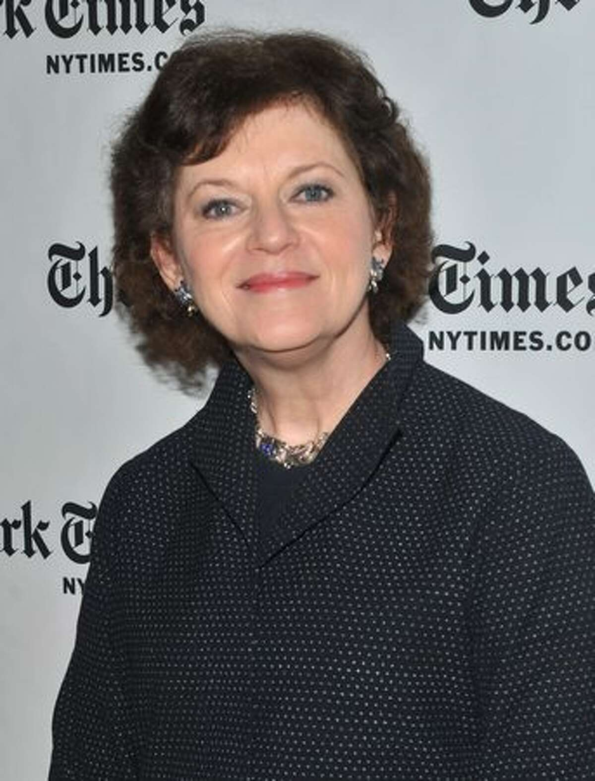 New York Times film and literary critic Janet Maslin attends the 10th Annual New York Times Arts & Leisure Weekend photocall at the Times Center in New York City.