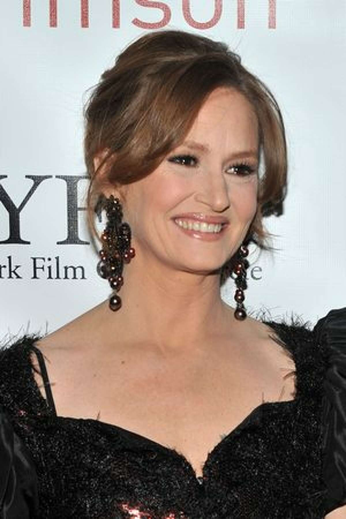Actress Melissa Leo attends the 2010 New York Film Critics Circle Awards at Crimson in New York City.