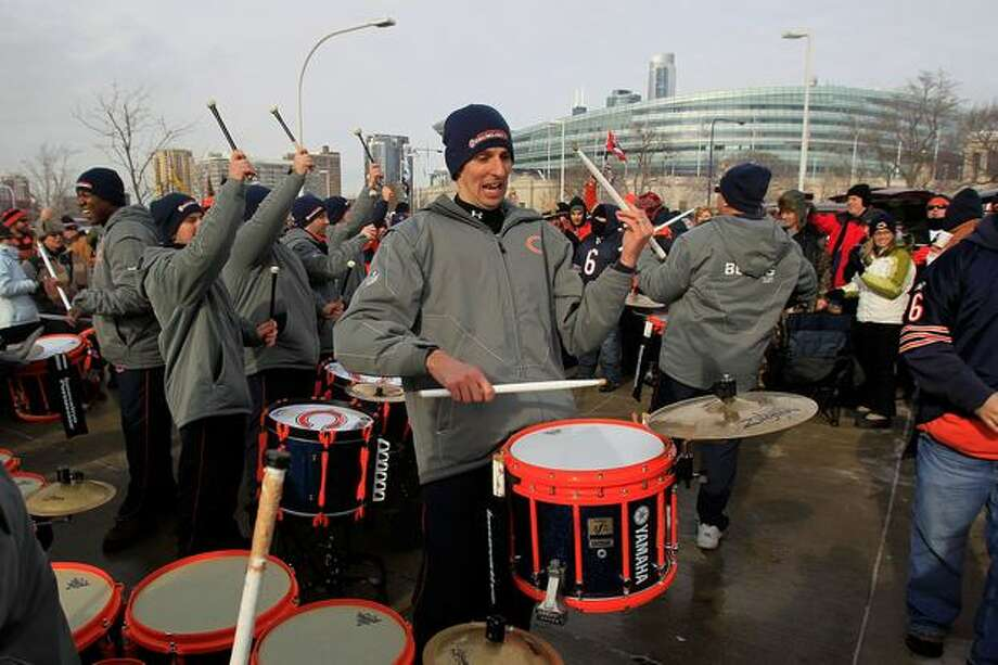 CHICAGO, IL - JANUARY 16: A band plays in the parking lot outside Soldier Field before the 2011 NFC divisional playoff game between the Chicago Bears and the Seattle Seahawks on January 16, 2011 in Chicago, Illinois. Photo: Getty Images