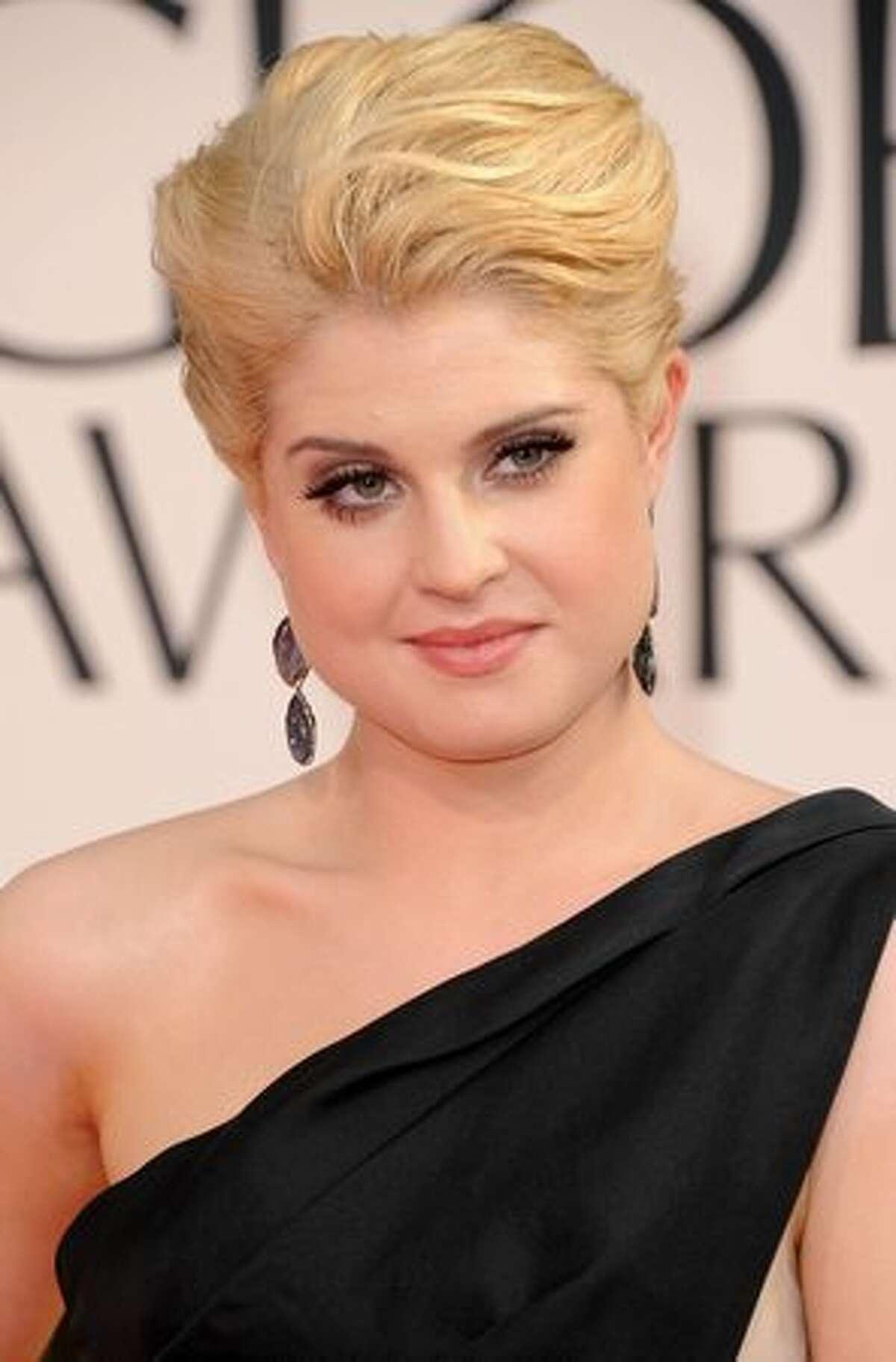TV personality Kelly Osbourne.