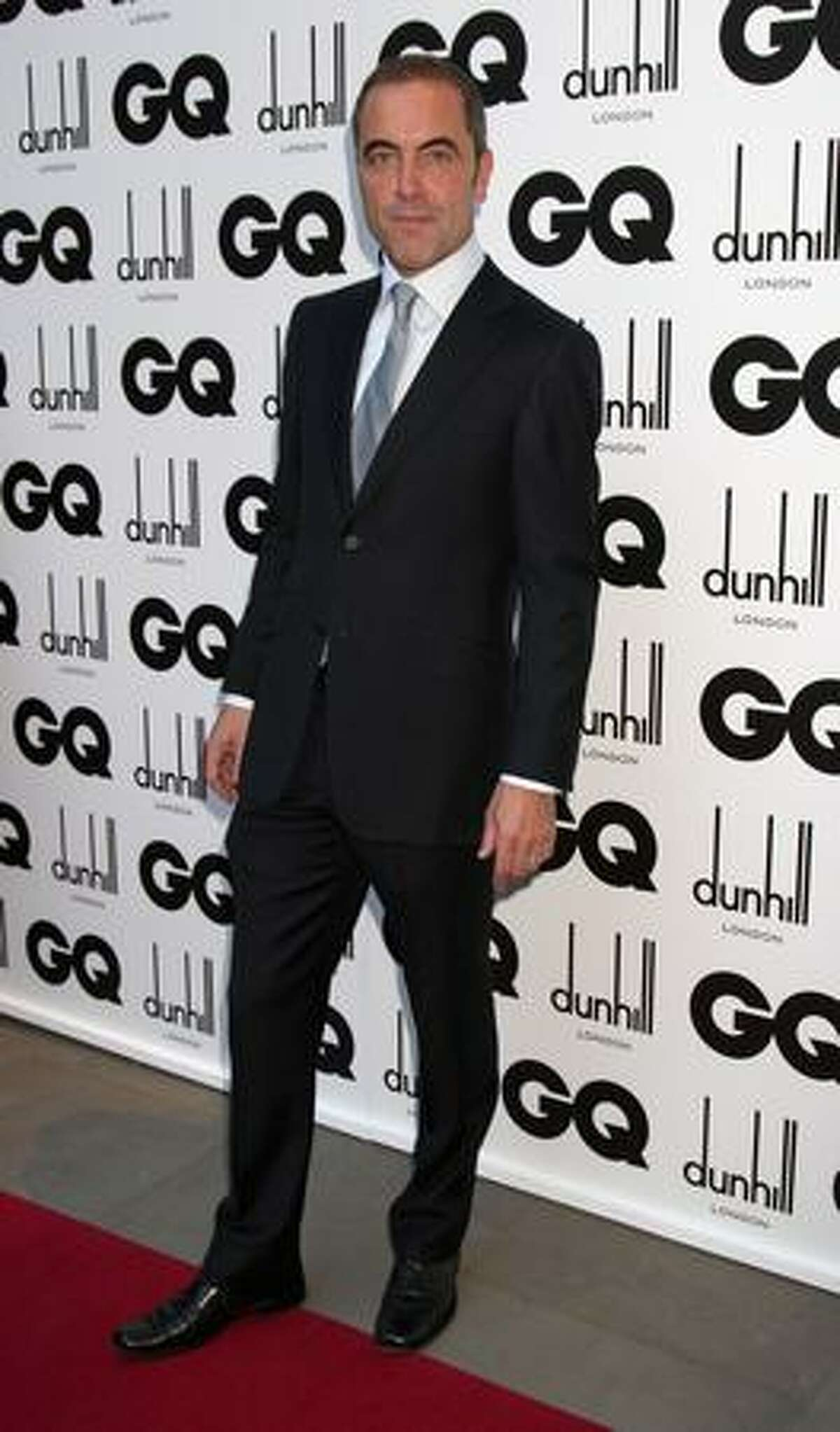 Actor James Nesbitt arrives for the 2009 GQ Men Of The Year Awards at The Royal Opera House in London, England.