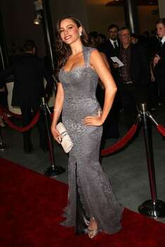 Actress Sofia Vergara arrives. Photo: Getty Images