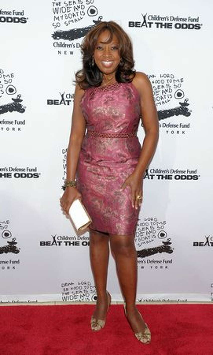 TV personality Star Jones now (2010).