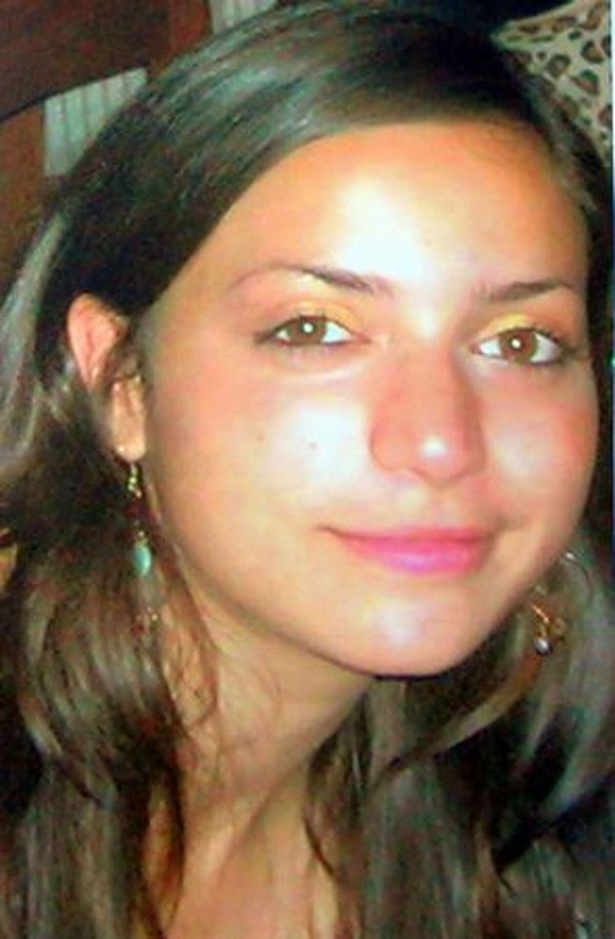 A reproduction of an undated picture shows British student Meredith Kercher in Perugia, Italy. American student Amanda Knox, her former Italian boyfriend Raffaele Sollecito and Rudy Guede from the Ivory Coast were charged with the murder of British student Meredith Kercher in Italy.