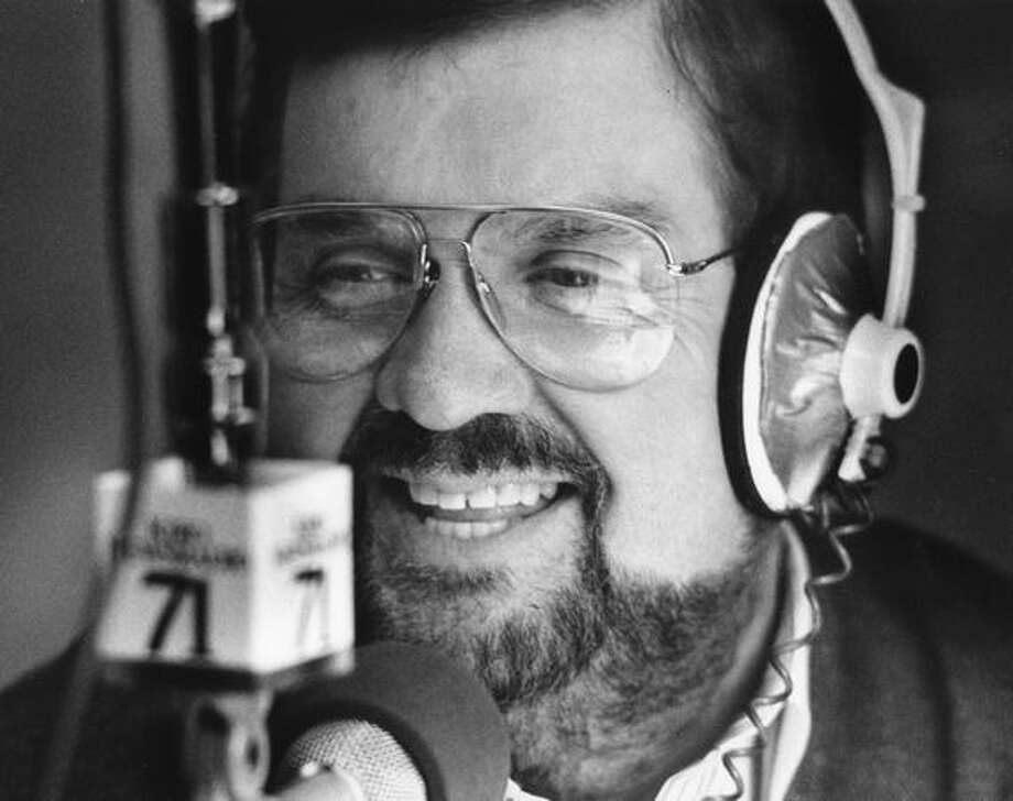 Wayne Cody during a KIRO sports broadcast, Jan. 25, 1990. Cody died in June 2002 at age 65. Photo: P-I File