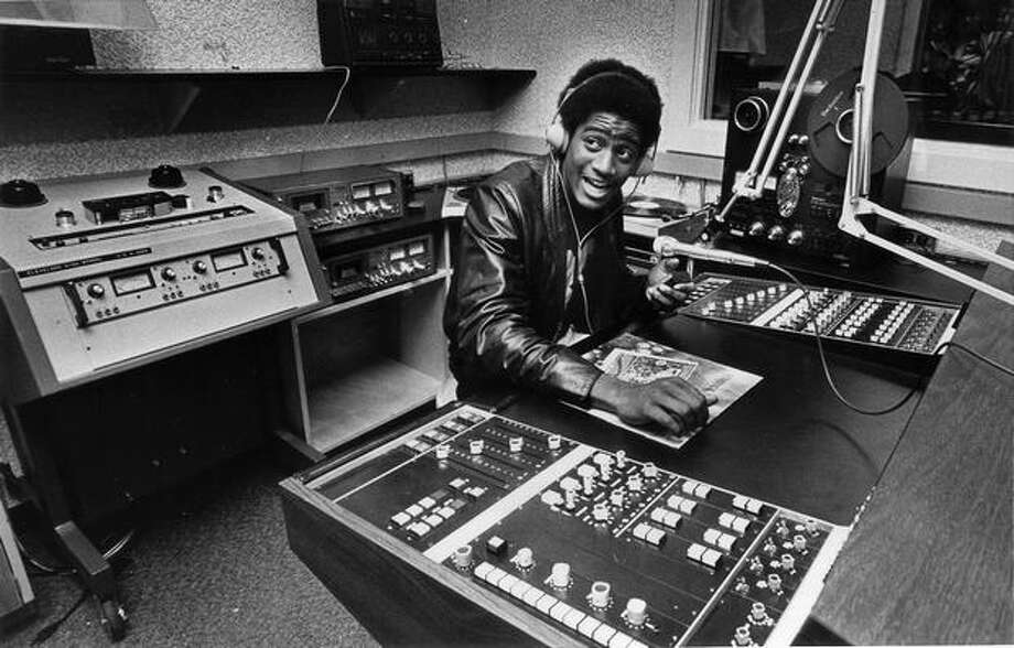 EddIe Releford, Cleveland High School radio and TV program student, helped produce a national TV show on Seattle integration in November 1979. Photo: P-I File