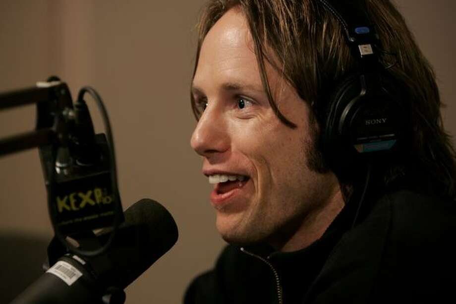 John Richards at KEXP in September 2005. (Kevin P. Casey/AP Photo) Photo: P-I File