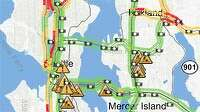 Traffic map thumbnail